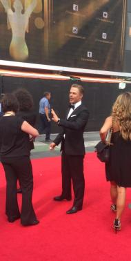 """Just found this Derek Hough photo on my phone. You like?"" - Emmy Awards - September 12, 2015 Courtesy KristynBurtt twitter"
